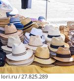 Купить «Hats for sale», фото № 27825289, снято 17 октября 2018 г. (c) PantherMedia / Фотобанк Лори