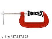 Купить «Compressed democracy concept», фото № 27827833, снято 4 июля 2020 г. (c) PantherMedia / Фотобанк Лори