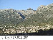 Купить «mountain village on mallorca», фото № 27828281, снято 20 сентября 2018 г. (c) PantherMedia / Фотобанк Лори