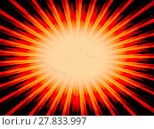 Купить «Radial orange sun rays abstract lowres background illustration», фото № 27833997, снято 19 января 2019 г. (c) PantherMedia / Фотобанк Лори