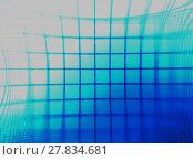 Купить «Horizontal blue vintage tv grid illustration background», фото № 27834681, снято 16 июля 2019 г. (c) PantherMedia / Фотобанк Лори