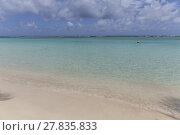 Купить «scenic tropical beach at Sainte Anne», фото № 27835833, снято 27 марта 2019 г. (c) PantherMedia / Фотобанк Лори