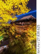 Купить «Kiyomizu-dera Temple», фото № 27838625, снято 20 июля 2019 г. (c) PantherMedia / Фотобанк Лори