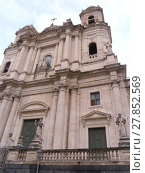 Купить «Beautiful city Catania in Italy, Sicilia Sicily», фото № 27852569, снято 27 марта 2019 г. (c) PantherMedia / Фотобанк Лори