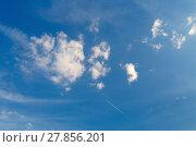 Купить «Blue sky», фото № 27856201, снято 21 мая 2018 г. (c) PantherMedia / Фотобанк Лори