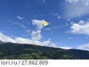 Купить «fly a kite», фото № 27862809, снято 19 октября 2019 г. (c) PantherMedia / Фотобанк Лори