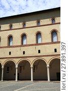 Купить «Castello Sforzesco is a castle in Milan», фото № 27891397, снято 12 декабря 2018 г. (c) PantherMedia / Фотобанк Лори