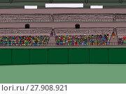 Купить «Large Group of Spectators in Stadium», иллюстрация № 27908921 (c) PantherMedia / Фотобанк Лори