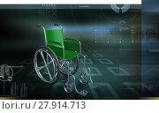 Купить «Wheel chair», фото № 27914713, снято 22 октября 2019 г. (c) PantherMedia / Фотобанк Лори