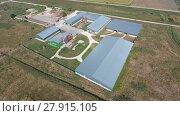 Купить «Hangar of galvanized metal sheets for storage of agricultural products», фото № 27915105, снято 18 января 2019 г. (c) PantherMedia / Фотобанк Лори