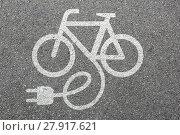 Купить «e-bike ebike e bike pedelec electro bike cycling environmental environmentally friendly», фото № 27917621, снято 23 мая 2018 г. (c) PantherMedia / Фотобанк Лори