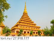 Купить «Wat Nong Wang temple in Khon Kaen,Thailand.», фото № 27918177, снято 23 августа 2019 г. (c) PantherMedia / Фотобанк Лори