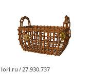 Купить «container basket bast lichens phloem», фото № 27930737, снято 19 октября 2018 г. (c) PantherMedia / Фотобанк Лори