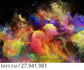 Купить «Game of Space Nebula», фото № 27941981, снято 20 июля 2018 г. (c) PantherMedia / Фотобанк Лори