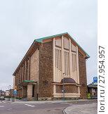 Купить «Church in Luxembourg-Belair», фото № 27954957, снято 19 февраля 2018 г. (c) PantherMedia / Фотобанк Лори