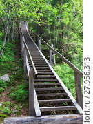 Купить «the famous staircase on mount sekirnaya,solovki,karelia,north of russia.», фото № 27956313, снято 19 октября 2018 г. (c) PantherMedia / Фотобанк Лори
