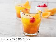 Купить «Fresh home made Mai Tai cocktails», фото № 27957389, снято 19 января 2019 г. (c) PantherMedia / Фотобанк Лори
