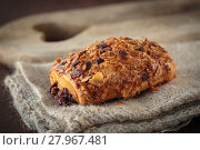 Купить «Chocolate bread croissant», фото № 27967481, снято 20 февраля 2018 г. (c) PantherMedia / Фотобанк Лори