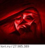 Купить «Silhouette of reaper», фото № 27985389, снято 24 марта 2018 г. (c) PantherMedia / Фотобанк Лори