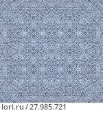 Купить «Oriental Geometric Interlace Seamless Pattern», фото № 27985721, снято 19 марта 2019 г. (c) PantherMedia / Фотобанк Лори