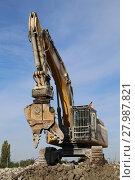 Купить «excavator», фото № 27987821, снято 24 марта 2019 г. (c) PantherMedia / Фотобанк Лори