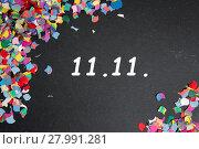 Купить «november 11th», фото № 27991281, снято 19 октября 2019 г. (c) PantherMedia / Фотобанк Лори