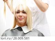 Купить «hair extension», фото № 28009581, снято 16 октября 2019 г. (c) PantherMedia / Фотобанк Лори