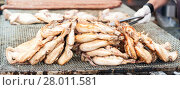 Купить «Chicken thighs cooked on the grill.», фото № 28011581, снято 16 июля 2019 г. (c) PantherMedia / Фотобанк Лори