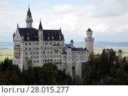 Купить «neuschwanstein castle», фото № 28015277, снято 23 марта 2019 г. (c) PantherMedia / Фотобанк Лори