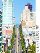 Купить «Cable Car California St Telephoto San Francisco V», фото № 28033781, снято 19 июля 2018 г. (c) PantherMedia / Фотобанк Лори