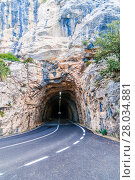 Купить «tunnel entrance in mallorca», фото № 28034881, снято 23 марта 2019 г. (c) PantherMedia / Фотобанк Лори