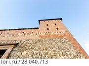 Купить «part of an ancient fortress», фото № 28040713, снято 18 июля 2018 г. (c) PantherMedia / Фотобанк Лори