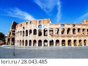 Купить «Колизей в Риме, Италия», фото № 28043485, снято 8 сентября 2017 г. (c) Наталья Волкова / Фотобанк Лори