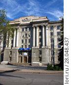 Купить «Самара. Здание филиала Гидропроекта», фото № 28048437, снято 3 мая 2008 г. (c) Светлана Кириллова / Фотобанк Лори