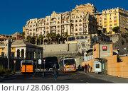 Купить «Streets of Genoa, Italy», фото № 28061093, снято 4 декабря 2017 г. (c) Яков Филимонов / Фотобанк Лори