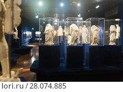 Купить «Ancient sculpture in Historical Museum of Budapest», фото № 28074885, снято 29 октября 2017 г. (c) Яков Филимонов / Фотобанк Лори