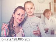 Купить «Doctor leading medical appointment», фото № 28085205, снято 29 апреля 2017 г. (c) Яков Филимонов / Фотобанк Лори