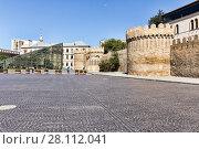 Купить «Fortress of the Old Sity Baku. Historical core of Azerbaijan Baku», фото № 28112041, снято 23 сентября 2015 г. (c) Евгений Ткачёв / Фотобанк Лори