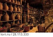Купить «Old wine cellar», фото № 28113333, снято 22 октября 2017 г. (c) Роман Сигаев / Фотобанк Лори