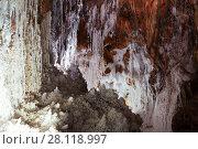 grotto at salt cave. Стоковое фото, фотограф Яков Филимонов / Фотобанк Лори