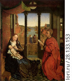 Купить «Saint Luke Painting the Virgin», фото № 28133153, снято 19 февраля 2020 г. (c) age Fotostock / Фотобанк Лори