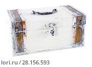 Купить «White decorative box», фото № 28156593, снято 22 апреля 2019 г. (c) Яков Филимонов / Фотобанк Лори