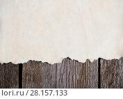 Купить «old paper on wooden background», фото № 28157133, снято 1 марта 2018 г. (c) Майя Крученкова / Фотобанк Лори