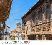 Iglesia de San Mateo. Baños de la Encina. Jaén. Andalusia. Spain. Стоковое фото, фотограф David Miranda / age Fotostock / Фотобанк Лори