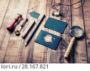 Купить «Vintage stationery still life», фото № 28167821, снято 13 июля 2020 г. (c) easy Fotostock / Фотобанк Лори