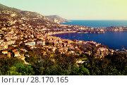 Купить «Panoramic view of Nica in France», фото № 28170165, снято 3 декабря 2017 г. (c) Яков Филимонов / Фотобанк Лори