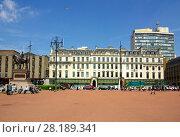 Купить «Площадь короля Георга в Глазго, Великобритания», фото № 28189341, снято 7 июня 2013 г. (c) Natalya Sidorova / Фотобанк Лори