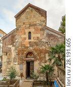 Купить «Anchiskhati Basilica, Tbilisi, Georgia», фото № 28191605, снято 5 октября 2017 г. (c) Boris Breytman / Фотобанк Лори