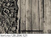 Купить «Illustration of wooden and stone textures», фото № 28204121, снято 19 декабря 2018 г. (c) Яков Филимонов / Фотобанк Лори