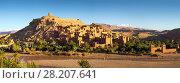 Купить «Kasbah Ait Ben Haddou in Morocco», фото № 28207641, снято 12 февраля 2018 г. (c) Михаил Коханчиков / Фотобанк Лори